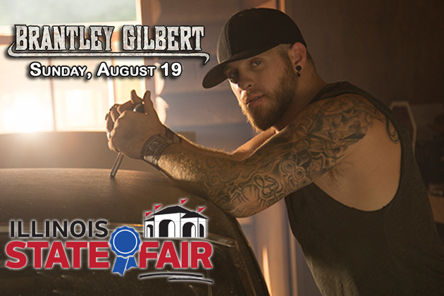 Win Tickets To Brantley Gilbert At Illinois State Fair