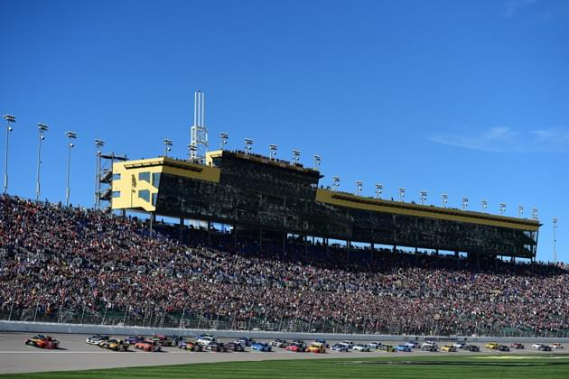 NASCAR Goes Under the Lights Saturday Night at Kansas
