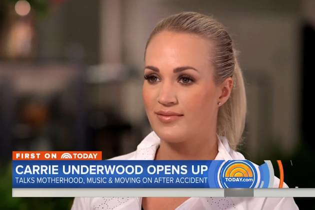 Carrie Underwood Opens Up on 'Today Show' [VIDEO]