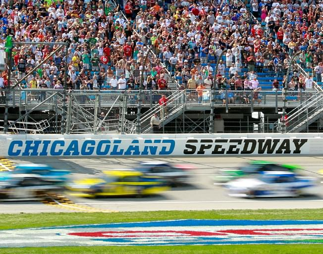 Win NASCAR Tickets to Chicagoland Speedway with Buck Stevens on B104