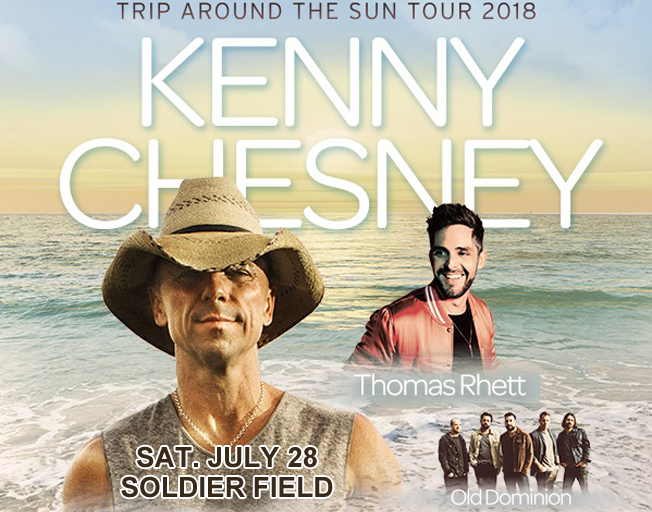 Win Tickets to Soldier Field on the B104-Budweiser-Kenny Bus