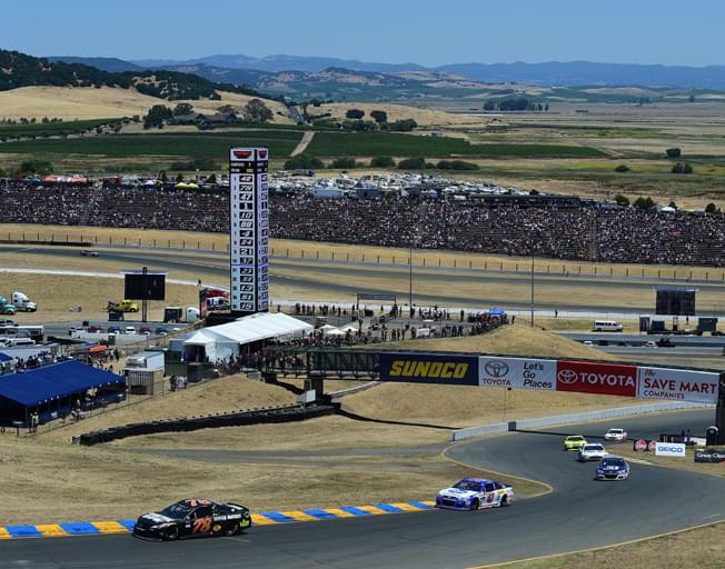NASCAR Back on the Road (Course) at Sonoma
