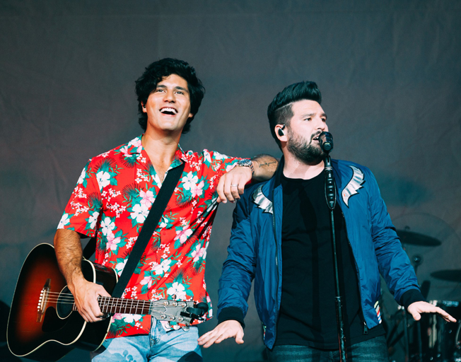 "Dan + Shay Enjoy ""Tequila"" with #1 Song and Album"