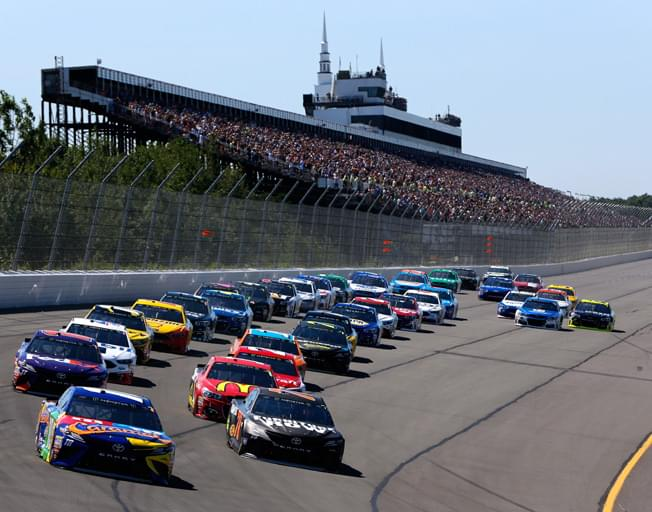 """NASCAR Drivers will have to Traverse the """"Tricky Triangle"""" of Pocono"""