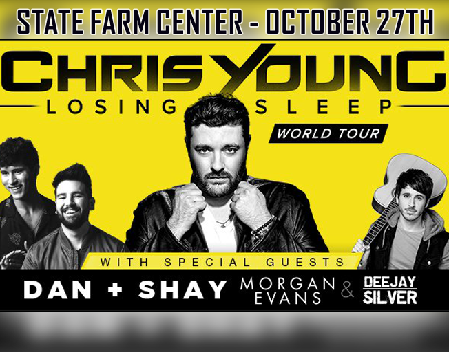 Win Tickets to Chris Young at the State Farm Center
