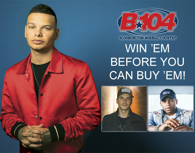 Win Kane Brown Tickets with Dan Westhoff