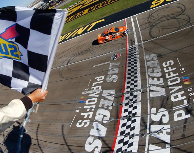 Brad Keselowski Wins Wild Start to NASCAR Playoffs at Las Vegas [VIDEO]