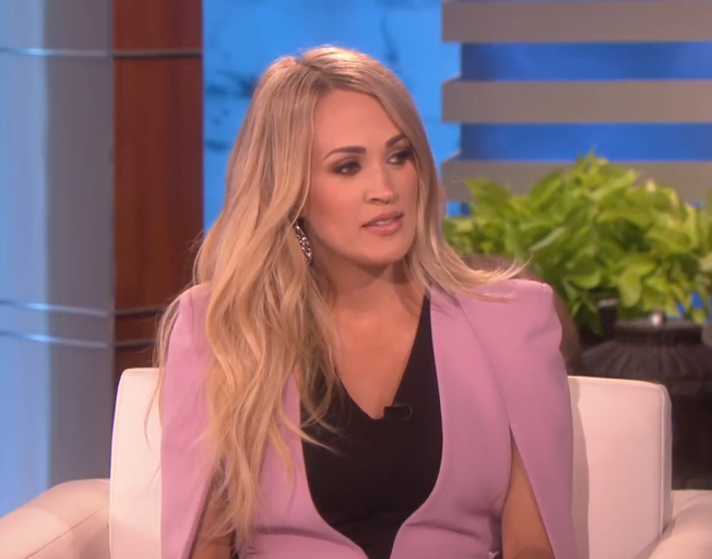 Carrie Underwood gets Emotional talking about Her Hometown [VIDEOS]