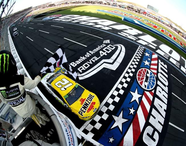 Ryan Blaney Wins 1st Ever NASCAR ROVAL Race at Charlotte