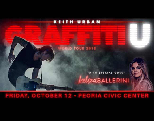 "Win Keith Urban Tickets With B104 ""Ticket Stops"""