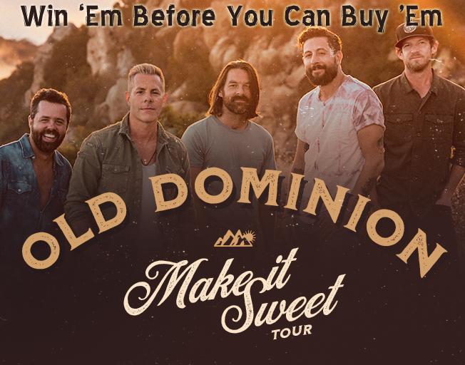 Win Old Dominion Tickets Before You Can Buy 'Em with B104!