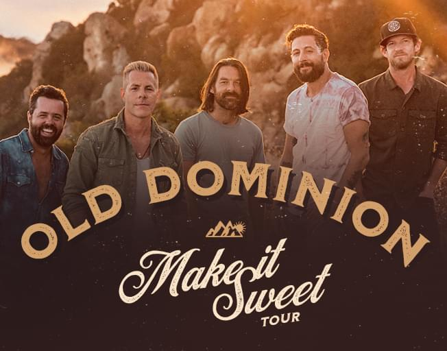 "Old Dominion ""Make It Sweet Tour"""