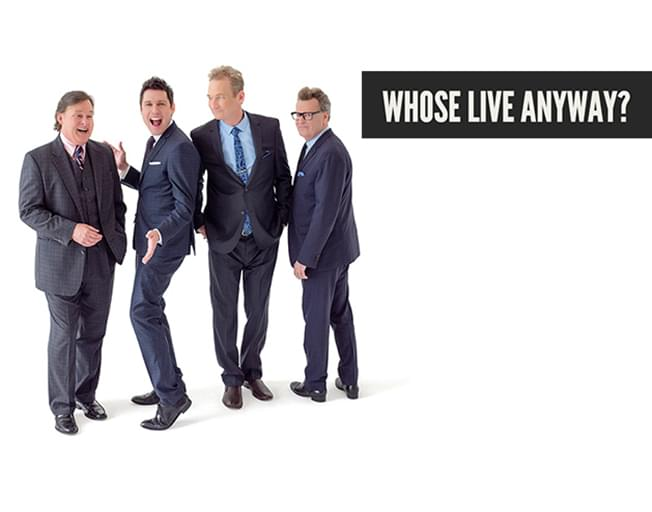 Win Tickets To 'Who's Live Anyway' With Insider Rewards