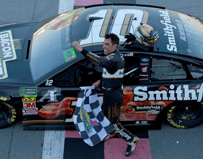 "Only NASCAR ""Big One"" at Talladega was Aric Almirola Win [VIDEO]"