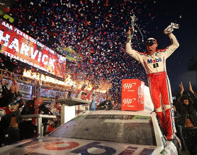 Kevin Harvick Makes NASCAR Championship Four with Big Texas Win [VIDEO]