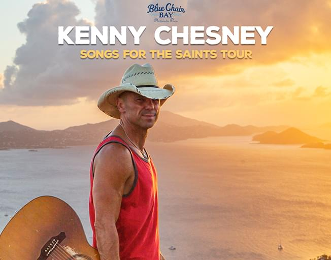 B104 Welcomes Kenny Chesney To The State Farm Center in Champaign