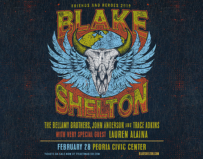 Win Tickets to Blake Shelton in Peoria | B104 WBWN-FM