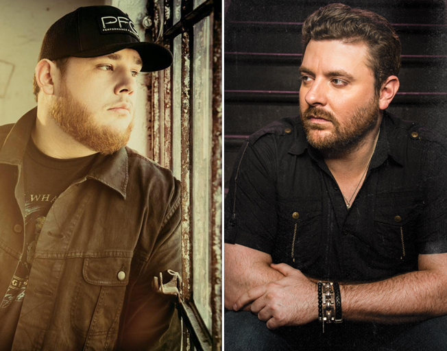 That's Four Straight for Luke Combs and Five for Chris Young