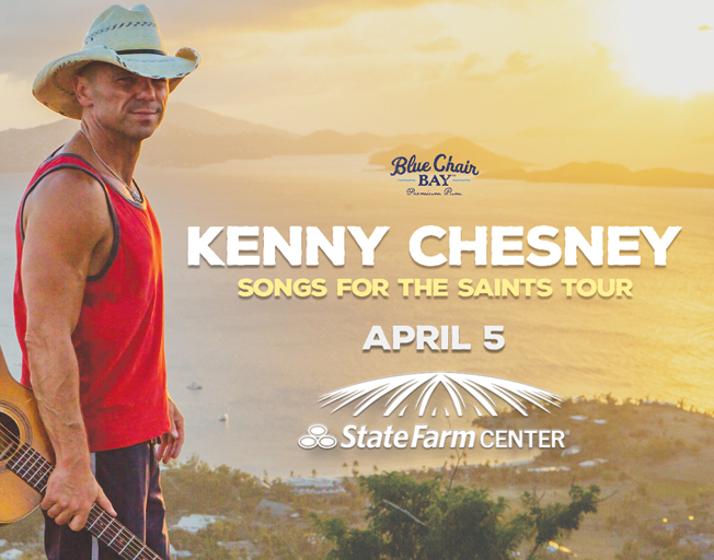 5, 4, 3, 2, 1: Win Tickets To Kenny Chesney In The First 5 Rows