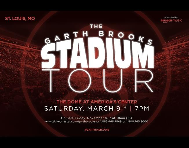 Win Tickets To Garth Brooks SOLD OUT St. Louis Show