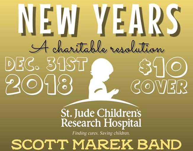 NYE For St Jude With Scott Marek Band