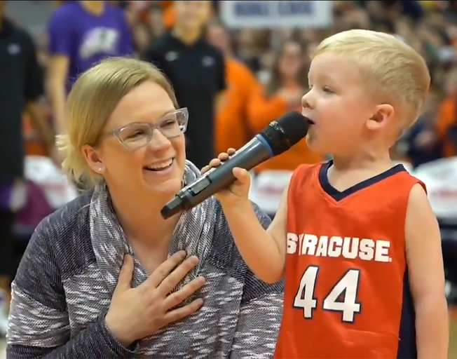 3-Year-Old Sings National Anthem [VIDEO]