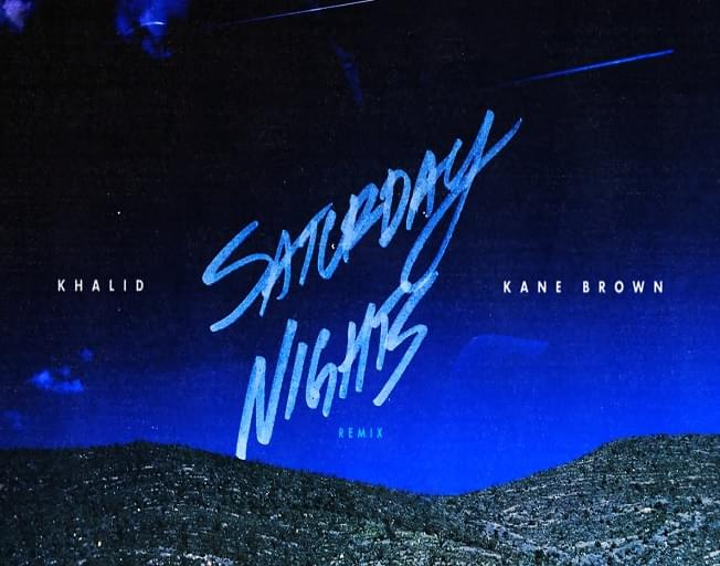 Kane Brown Joins Khalid for Saturday Nights Remix [VIDEO]