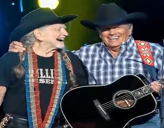 Willie Nelson And George Strait Sing Together For The First Time Ever [VIDEO]