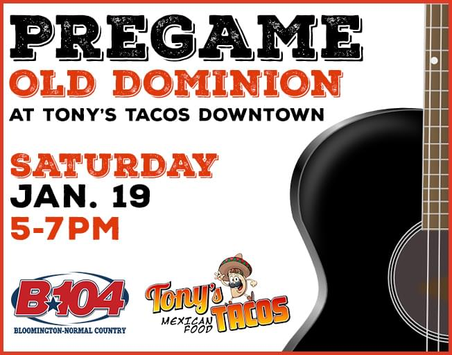 Old Dominion Pre Party At Tony's Tacos