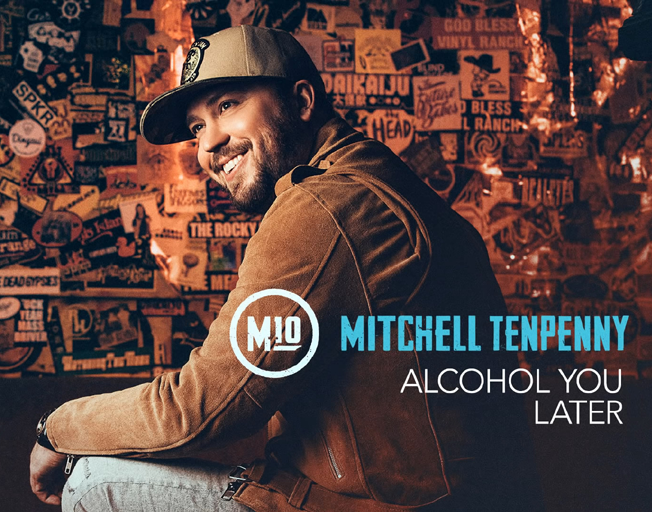 "Listen to Mitchell Tenpenny's New Single ""Alcohol You Later"""