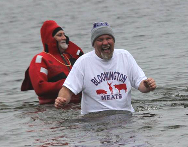 Help Buck Reach $1000 Polar Plunge Goal for Special Olympics