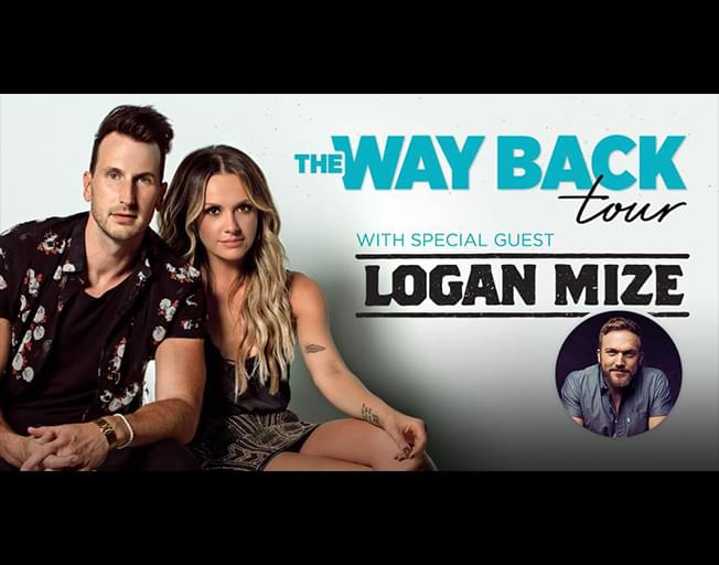 "Russell Dickerson and Carly Pearce ""Way Back Tour"" with special guest Logan Mize at The City Center in Champaign Thursday, February 28th"