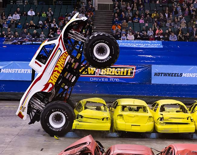 Win Tickets To Hot Wheels Monster Trucks At Grossinger Motors Arena