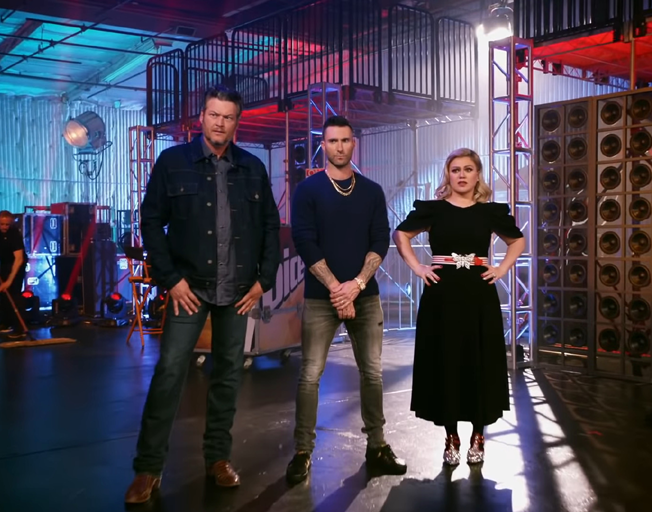 John Legend has Blake Shelton, Adam Levine & Kelly Clarkson Worried on 'The Voice' [VIDEO]
