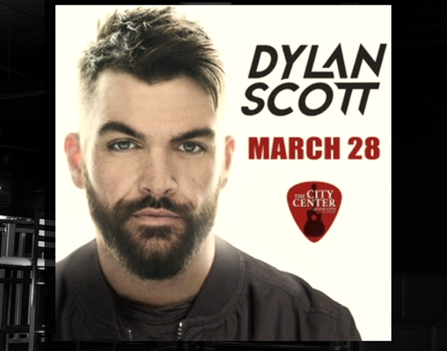 Dylan Scott at The City Center Thursday, March 28th