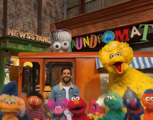 Thomas Rhett Helping Celebrate 50 Years of 'Sesame Street' with new Song