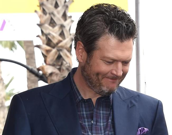 Blake Shelton Receiving CRS Humanitarian Award Today