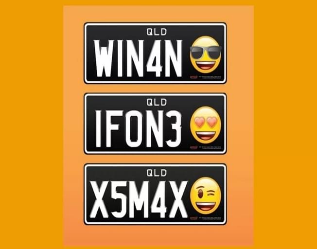 Could Emoji License Plates Be A Thing?