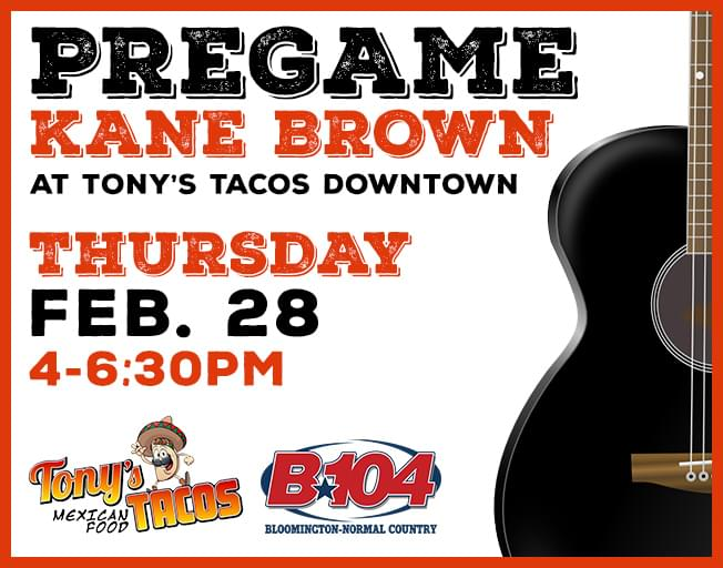 Kane Brown Pre-Party at Tony's Tacos