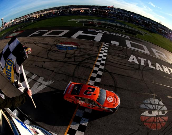 Brad Keselowski Wins NASCAR Race in Atlanta [VIDEO]