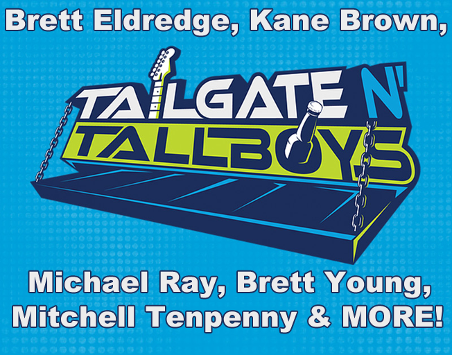 Win 4 Day Passes To Tailgate N Tallboys With Faith & Hunter
