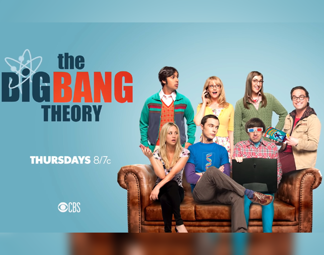 'The Big Bang Theory', Thursdays 8/7c on CBS