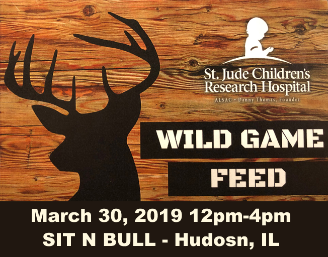 2019 Wild Game Feed to benefit St. Jude