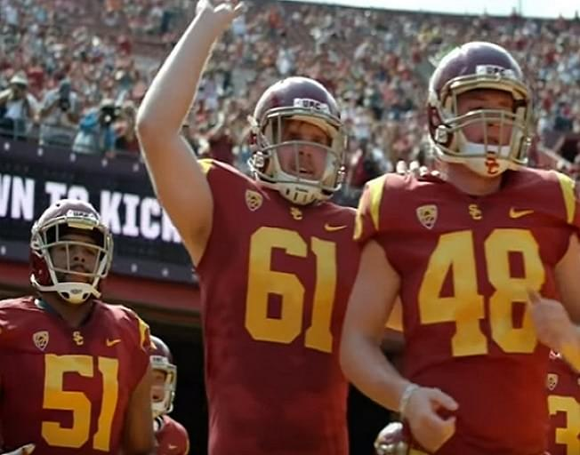 Blind Football Player Wows At USC Pro Day