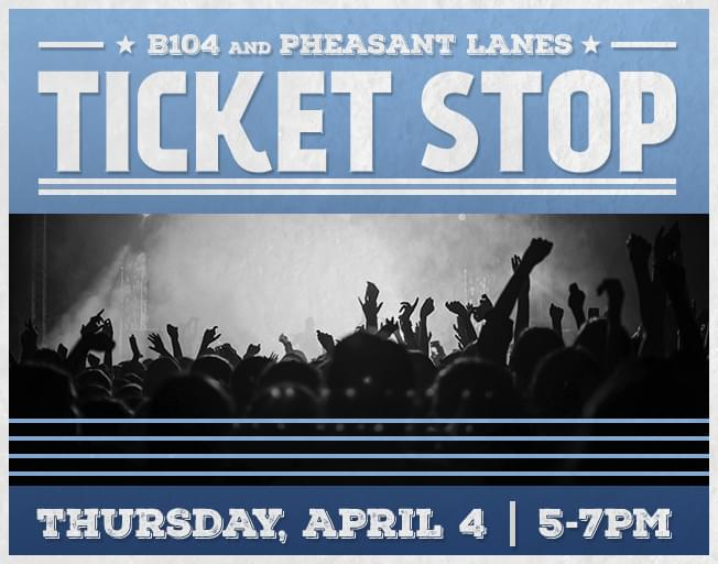 Win Kenny Chesney Tickets Thursday at Pheasant Lanes