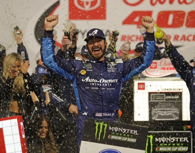 Martin Truex Jr. Finally Wins on a Short Track at Richmond [VIDEO]