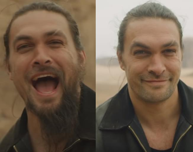 Jason Momoa Shaved Off His Beard And People Are Freaking Out Over It [VIDEO]