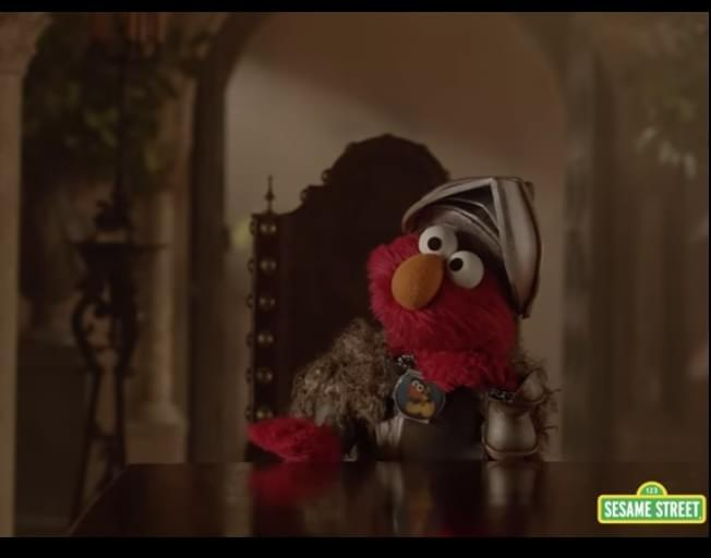 We're Pretty Sure Elmo Won The Game Of Thrones