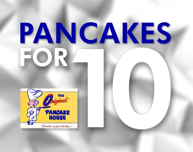 Win Pancakes For You And Your Co-Workers