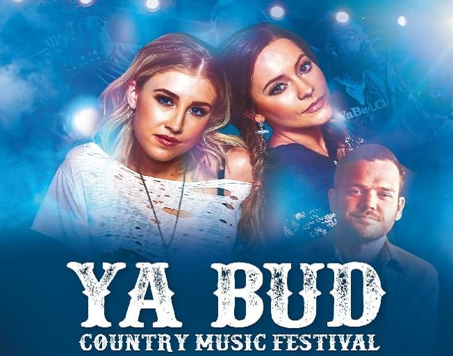 Win Tickets to the Ya Bud Country Music Festival